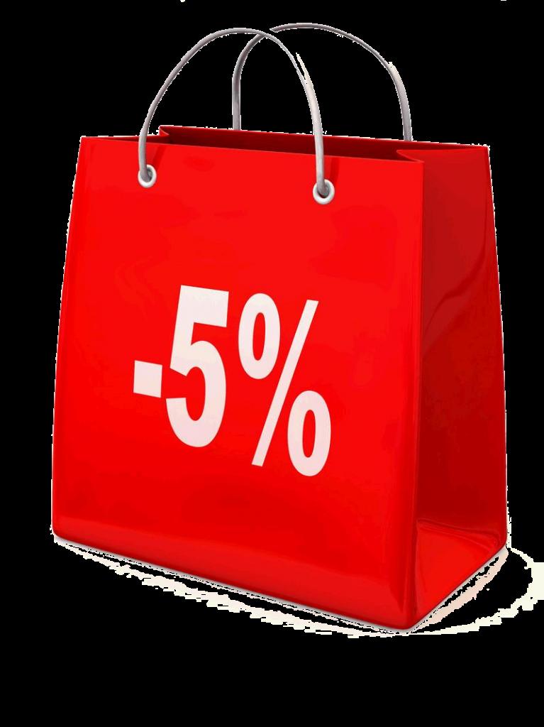 FRÜHBUCHERRABATT 5 %